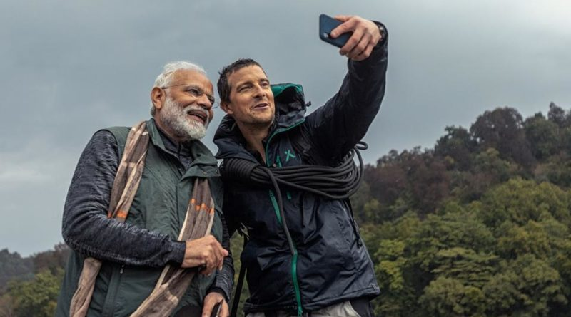 PM Modi in Man vs Wild