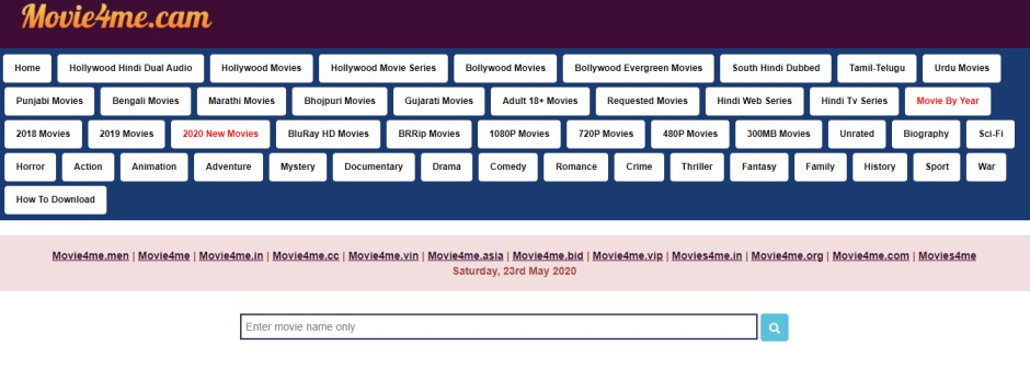 Movie4Me 2020 – Download & Watch HD Bollywood, Hollywood, South Movies Free - INDEPENDENT NEWS