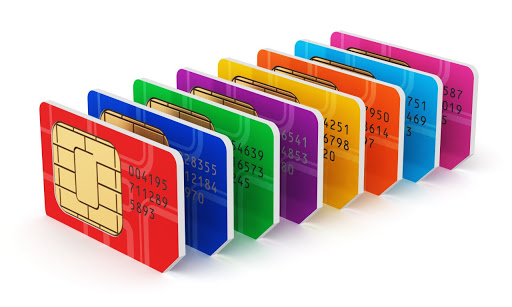 SIM card Puk code method