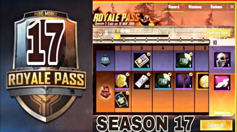 Pubg Mobile Season 17 Royale Pass